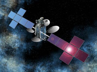 Спутник EchoStar XVI (иллюстрация с сайта ssloral.com).