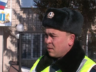 Сотрудниками ДПС был задержан пьяный водитель марштурки