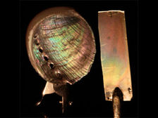 Воссоздавая слой за слоем природный материал, исследователи из Кембриджского университета изготовили искусственный перламутр, который имеет такую же структуру, механические и оптические свойства, что и природный аналог ((фото Alex Finnemore/University of Cambridge).)