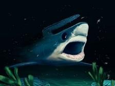 Реконструкция внешнего вида древней акулы ((иллюстрация Alain Beneteau/Nature).)