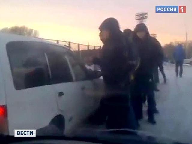 Очередь за наркотиками в Новосибирске