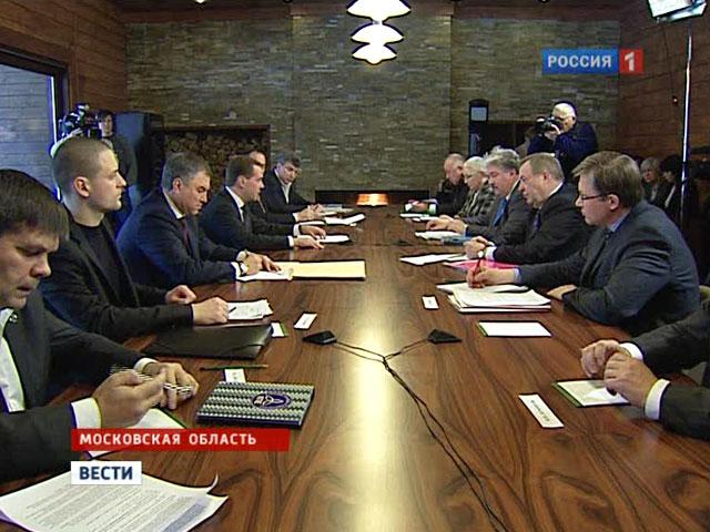 Встреча Медведева с оппозицией, 20 февраля 2012. Вести.Ру