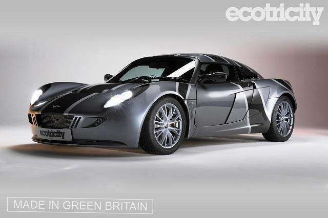 Автомобиль создан на базе спорткара Lotus Exige (фото Ecotricity).