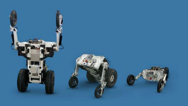 Роботы-полицейские смогут патрулировать общественные места, выписывать штрафы и охранять важные объекты (иллюстрация IHMC).
