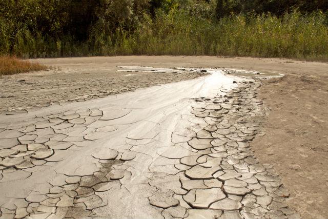 Процесс образования рисунка на морде крокодила напоминает формирование корки на высыхающей грязи (фото Heorhiy Manukyan).