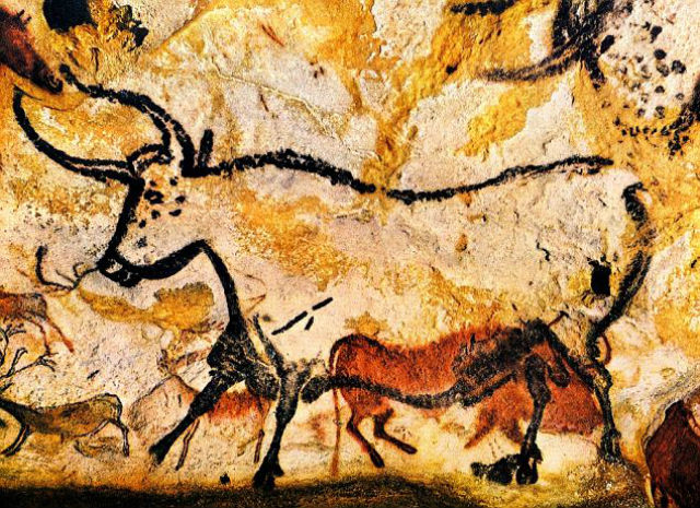 Наскальное изображение древнего быка (фото с сайта dailymail.co.uk).