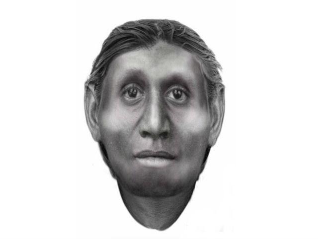 Портрет флоресского человека (Homo floresiensis) (иллюстрация Susan Hayes/University of Wollongong).