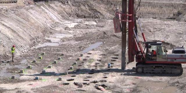 Так выглядела защитная конструкция в реальности (фото с сайта dvice.com).