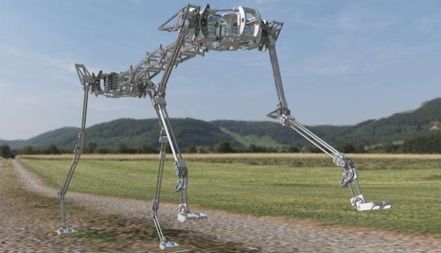 Японские робототехники представили нового робота-гепарда. Его подвижный скелет в сочетании с пневматическими мышцами позволяет имитировать плавные движения живых кошек (фото Andre Rosendo, Shogo Nakatsu, Kenichi Narioka, Koh Hosoda/Osaka University).