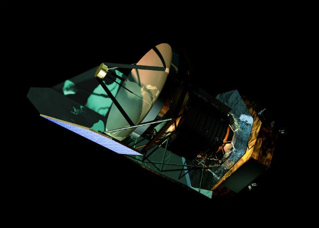 """Телескоп """"Гершель"""" отправился на орбиту 14 мая 2009 года (иллюстрация ESA)."""