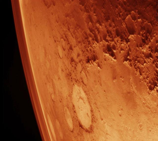 Примерно такой вид откроется из иллюминатора для одной супружеской пары 20 августа 2018 года (фото NASA).