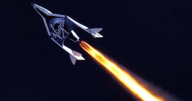 1)Космический корабль компании Virgin Gаlactic (иллюстрация Virgin Gаlactic).