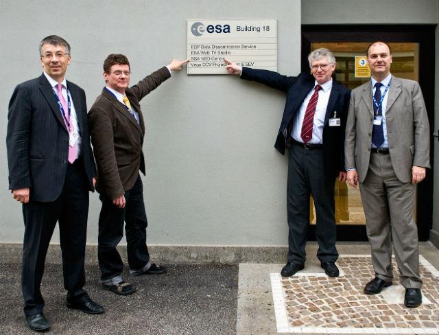 Центр расположился на территории Европейского института космических исследований (фото Valentina Stefanelli).