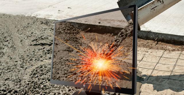 Во время эксперимента жидкий цемент обрабатывался при очень высоких температурах (фото Argonne National Laboratory/Flickr).