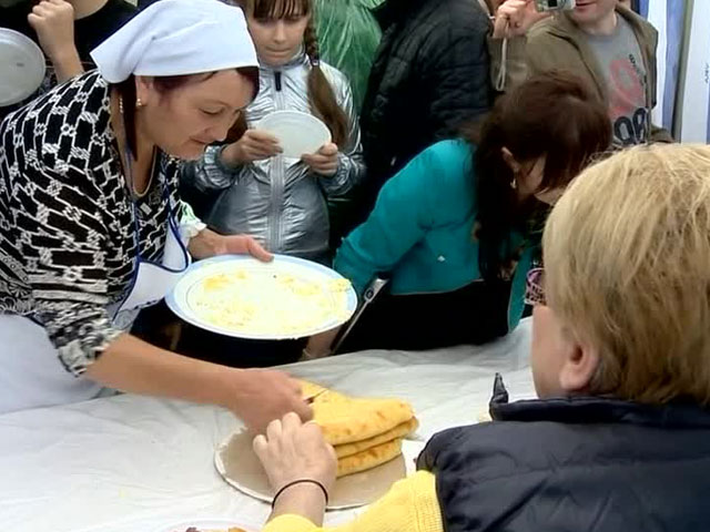 Фестиваль осетинских пирогов прошёл во Владикавказе
