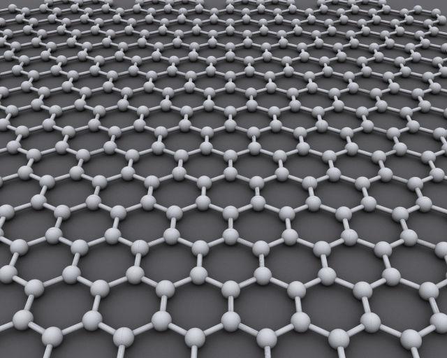 Графеновая структура представляет собой бесчисленное количество идеально правильных шестигранников из атомов углерода (иллюстрация AlexanderAlUS/Wikimedia Commons).