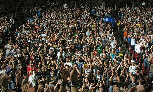 Согласно исследованию шведских учёных, продолжительность и громкость оваций зависит вовсе не от качества выступления, а от поведения зрителей или слушателей (фото Anirudh Koul/Flickr).