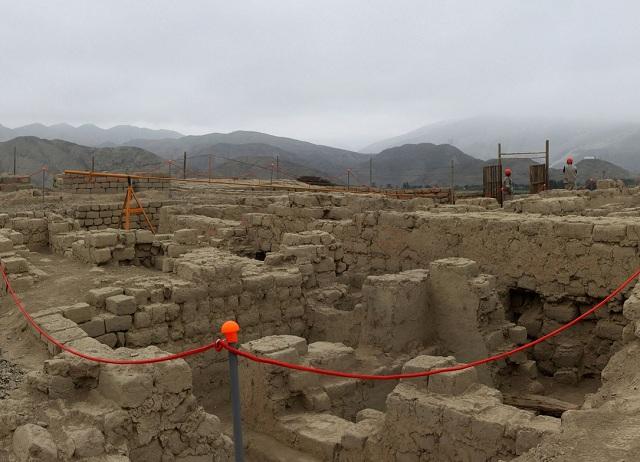 Археологический комплекс Уари расположен в Перу к северу от Лимы (фото Ministerio de Cultura del Perú).