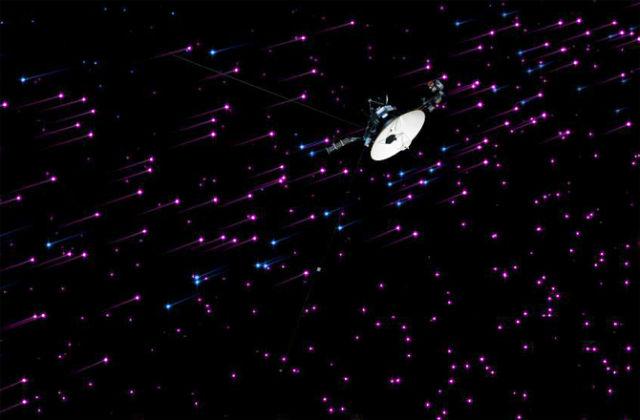 """Сигнал с Земли идёт до """"Вояджера-1"""" около 17 часов (иллюстрация NASA/JPL-CALTECH)."""