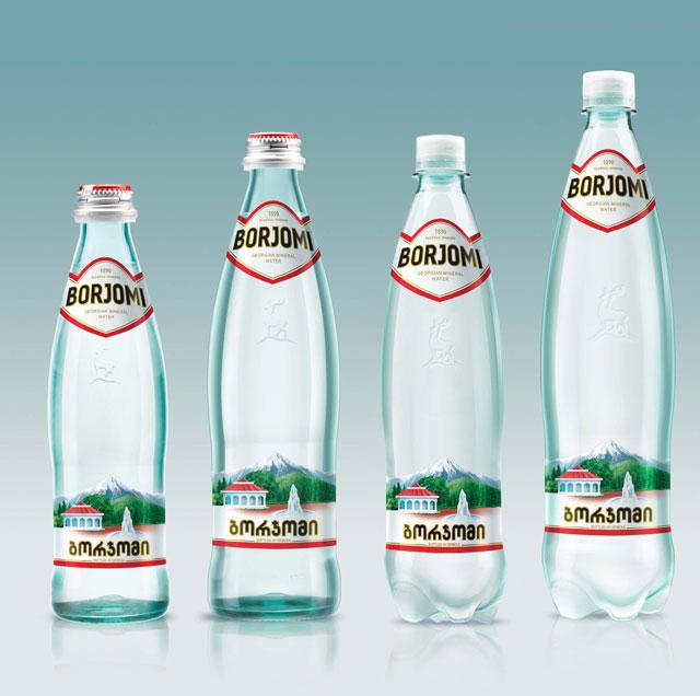 бутылки боржоми фото