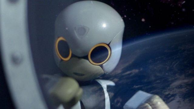 Киробо отправится на Международную космическую станцию 4 августа 2013 года (иллюстрация Kyodo, University of Tokyo).