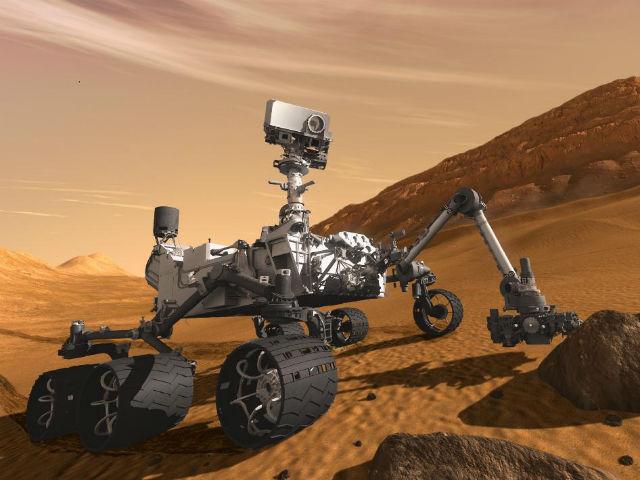 Часть марсохода будет построена из запасных деталей Curiosity (иллюстрация NASA/JPL-CALTECH).
