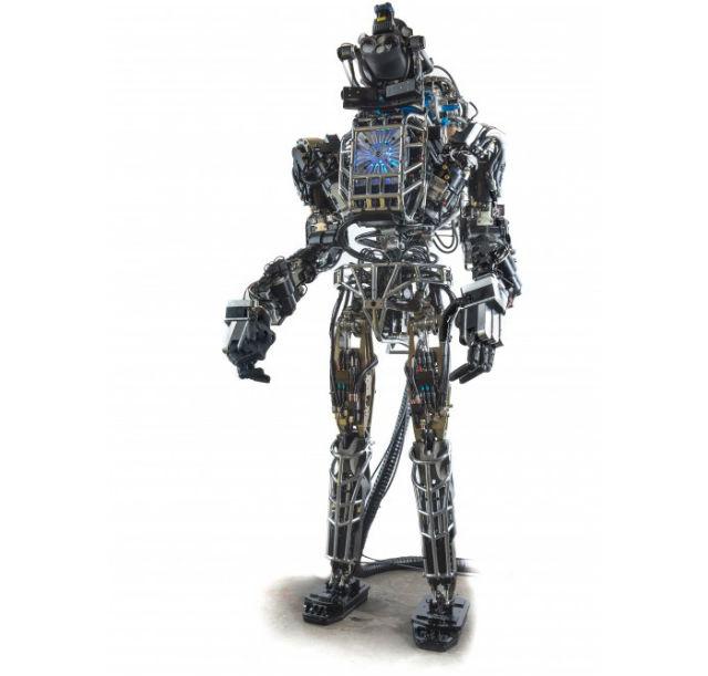 Робот Atlas — последняя разработка инженеров из компании Boston Dynamics (фото Boston Dynamics, DARPA).