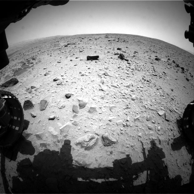Почти за год марсоход преодолел дистанцию в 1029 метров (фото NASA).