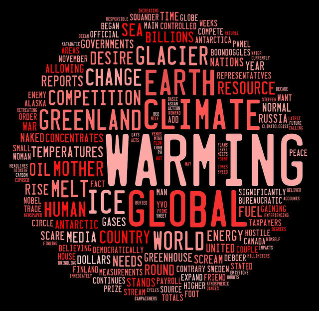 Пауза в глобальном потеплении продлится недолго, считают учёные (иллюстрация woodleywonderworks/Flickr).