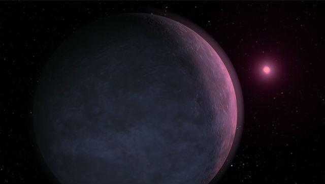 Коричневый карлик в представлении художника (иллюстрация NASA).