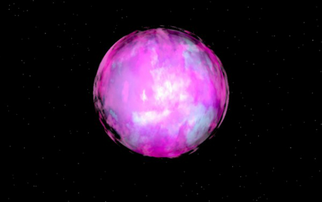 Небольшое светило в созвездии Скульптора, имеющее пока лишь кодовое название − HE 2359-2844 (иллюстрация C. S. Jeffery).