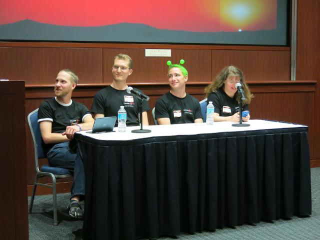 Четверо добровольцев, желающих навсегда остаться на Марсе (фото Tanya Lewis/Space.com).