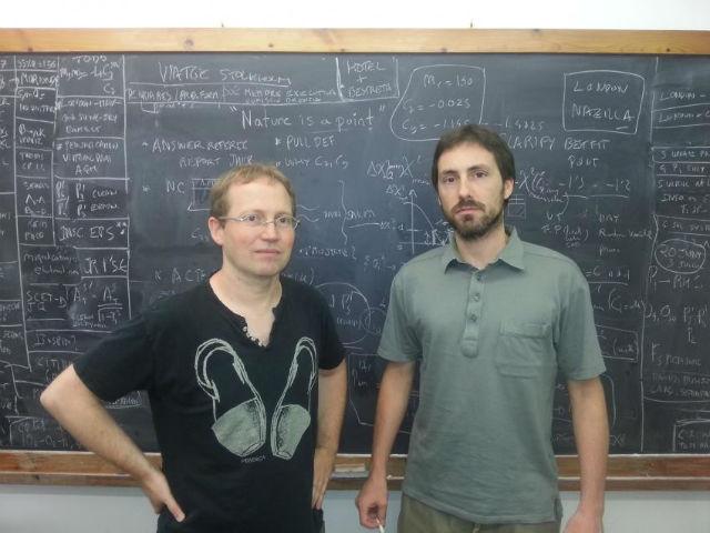 Соавторы исследования Хоаким Матиас (слева) и Хавьер Вирто (справа) из Автономного университета Барселоны (фото UAB).