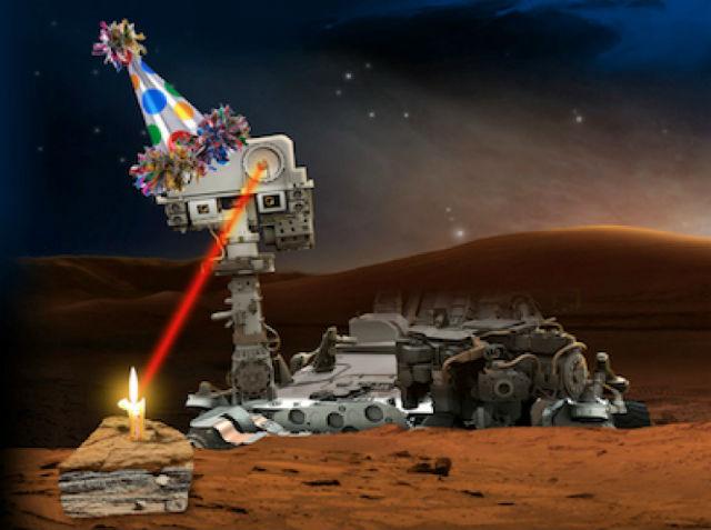 Ровер Curiosity празднует день рождения в полном одиночестве, но учёные NASA могут гордиться достижениями своего детища (иллюстрация NASA).