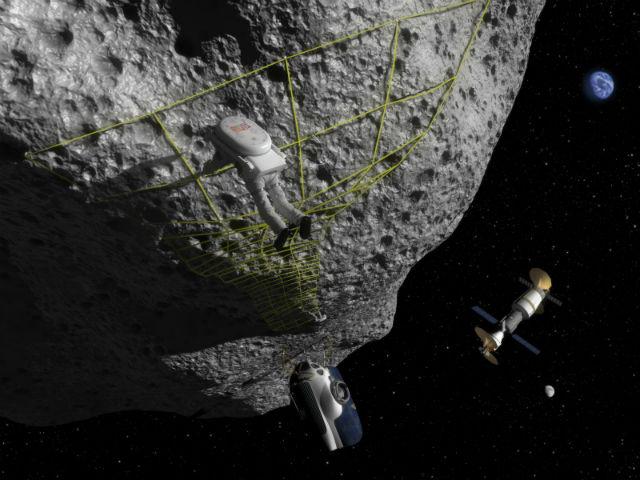 Некоторые астероиды могут быть настолько большими, что сопоставимы по размерам с планетой. Космическое агентство NASA уже планирует миссии по более тщательному их изучению (иллюстрация NASA/Wikimedia Commons).