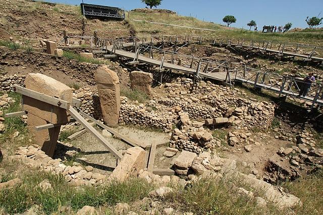 Храм принадлежит к эпохе неолита (фото Klaus-Peter Simon / Wikimedia Commons).