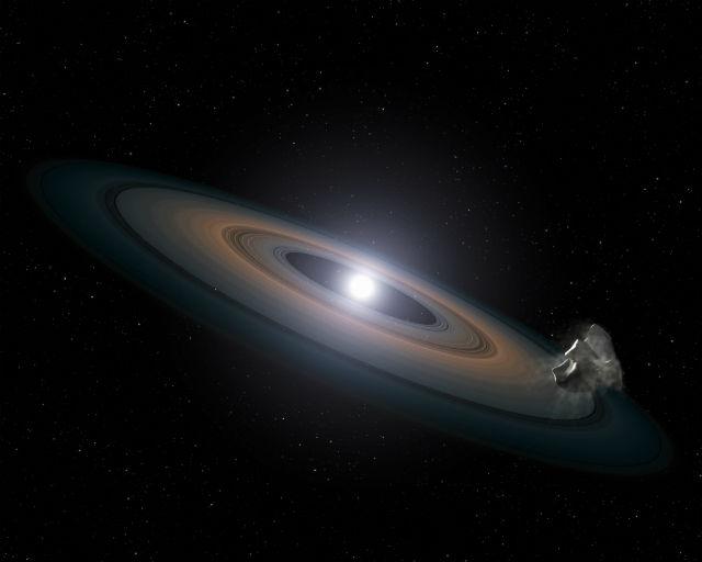 Белый карлик GD 61 когда-то был яркой звездой втрое больше Солнца (иллюстрация NASA, ESA, STScI, and G. Bacon/Wikimedia Commons).