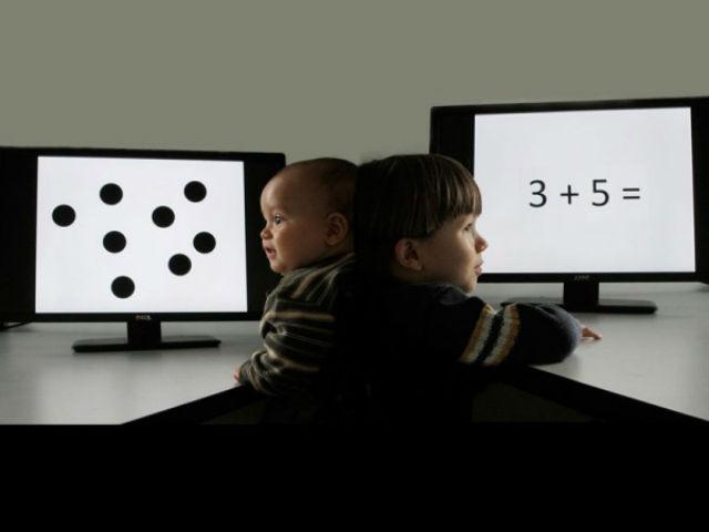 Чтобы разобраться в человеческих способностях к математике психологи проводили исследования на протяжении более чем трёх лет (фото Melissa Libertus).