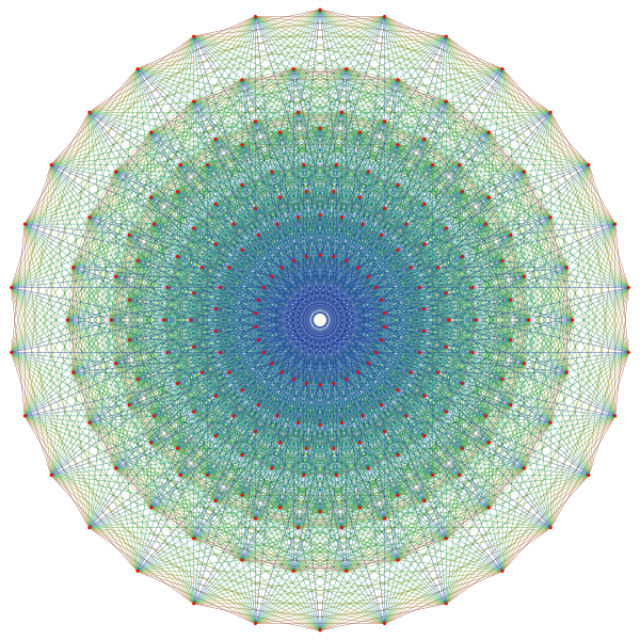 """Физики уже многие годы пытаются объединить Теорию относительности и квантовую механику в """"теорию всего"""" (иллюстрация Claudio Rocchini/Wikimedia Commons)."""