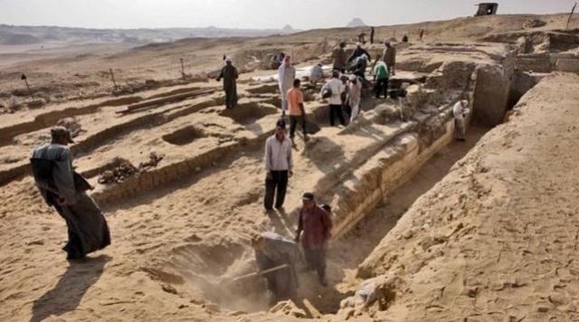 По словам археологов, врач жил во времена фараона Ниусерра (фото Arab Republic of Egypt Ministry of State for Antiquities Affairs).