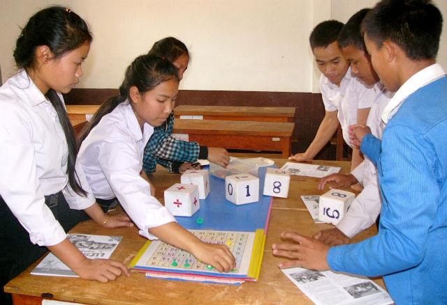 Если взрослые будут чаще употреблять числительные в присутствии своего грудного ребёнка, то в средней школе у него проблем с математикой, скорее всего, не будет (Blue Plover/Wikimedia Commons).
