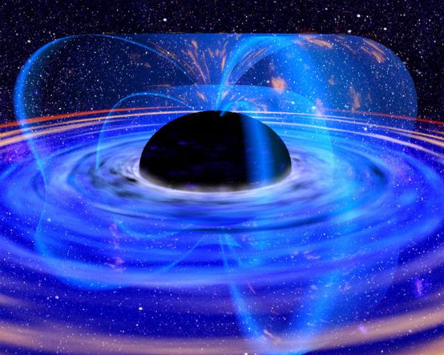 Изучение чёрных дыр поможет в объединении двух физических теорий (иллюстрация NASA, Wikimedia Commons).
