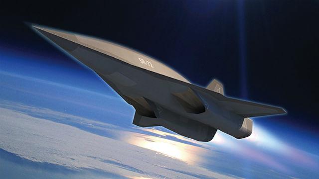 Новый гиперзвуковой самолёт SR-72 будет летать в шесть раз быстрее звука (иллюстрация Lockheed Martin).