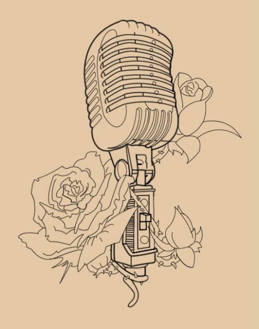 Возможно, микрофоны будущего будут продаваться в виде переводных татуировок (иллюстрация Skykittens/Deviantart).