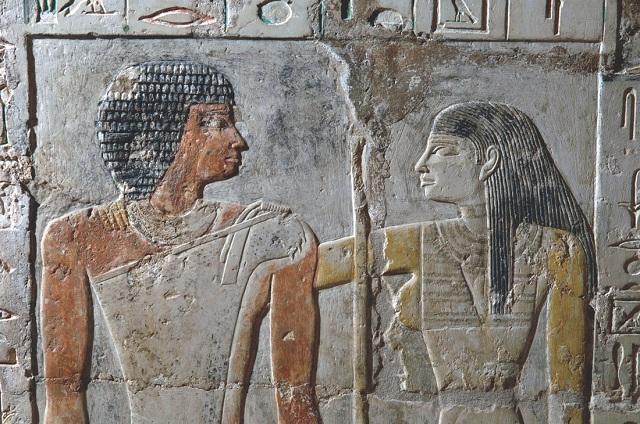 Супруги Кахай и Меретита служили во дворце фараона (фото Macquarie University Ancient Cultures Research Centre).