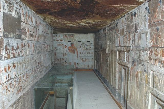 Семейная гробница мало изменилась за более чем 4 тысячи лет (фото Macquarie University Ancient Cultures Research Centre).