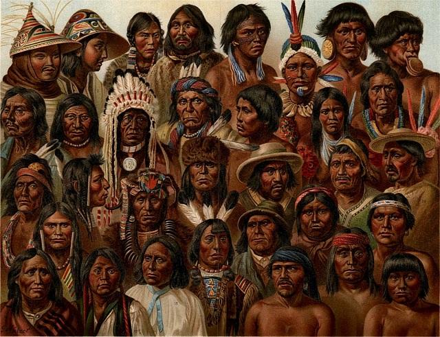 Более трети индейских генов имеют европейское происхождение (иллюстрация G. Mülzel/Wikimedia Commons).