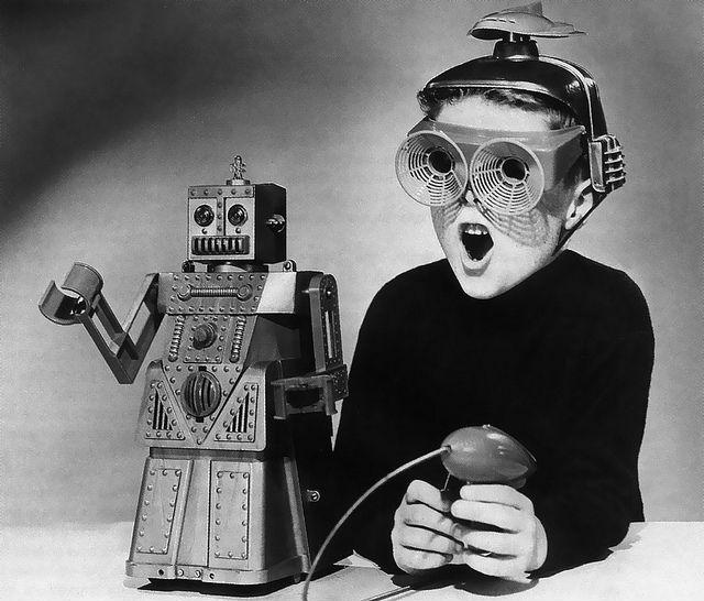 Роботы смогут стать похожими на людей (фото James Vaughan/Flickr).