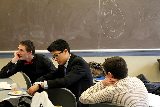"""Студенты на лекциях чаще всего сталкиваются с """"приятной"""" индифферентной скукой (фото Quinn Dombrowski/Flickr)."""