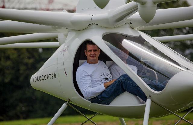 Volocopter рассчитан на двух человек (фото e-volo).
